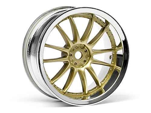 Work Xsa 02C Felge 26mm Chrom/Gold (3mm Offset)