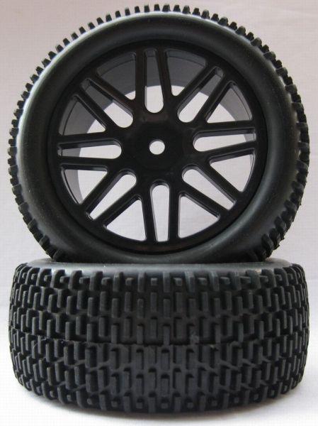 1:10 4WD vorn Miniblock-Räder (2)