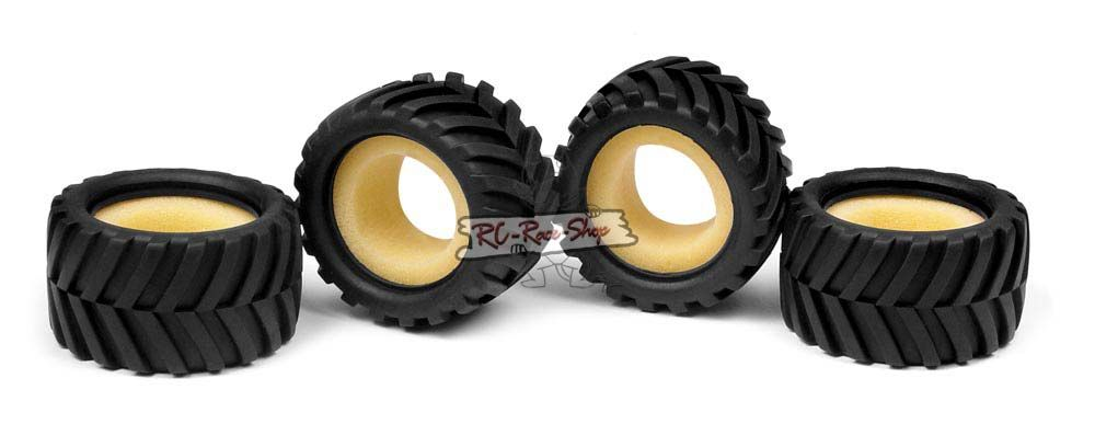 MICRO Monster-Truck Reifen inkl. Einlage - Chevron