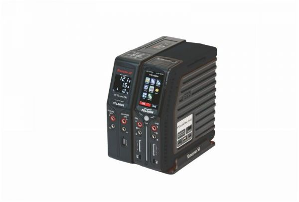 Polaron Pro Combo schwarz Ladegerät 12/230V