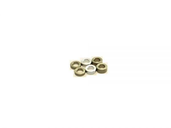 3mm Scheiben (1.5/2.0/2.5) Titan (6)