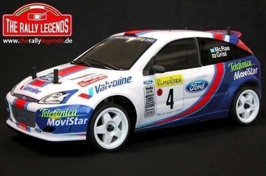 Ford Focus WRC McRae / Grist 2001 1:10 4x4 Elektro RTR