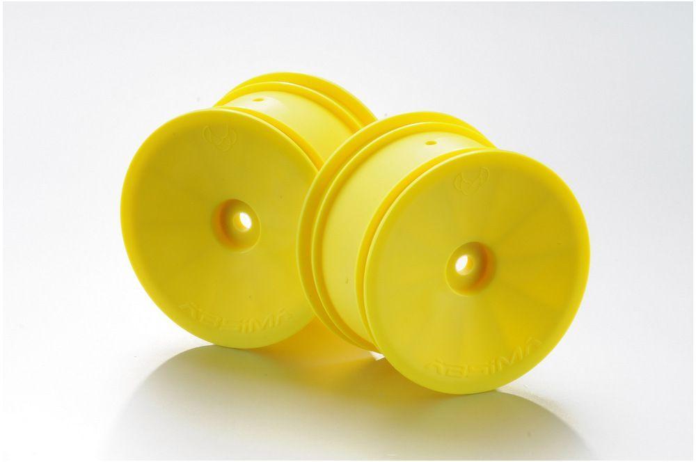 1:10 Buggy rims 12mm rear yellow (2)