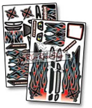 Dekorbogen X-Wrapz IGNITE Touring rot