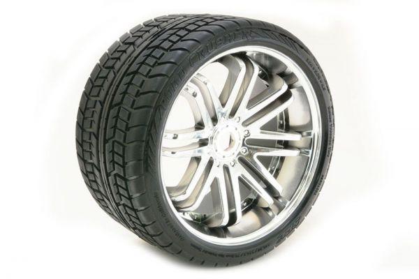 1:8 Truck-Strassenräder Belted chrome (2)