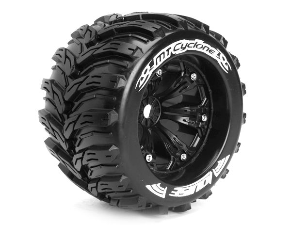 "3,8"" Wheels Cyclone Monster Truck 0 Offset 17mm (2)"