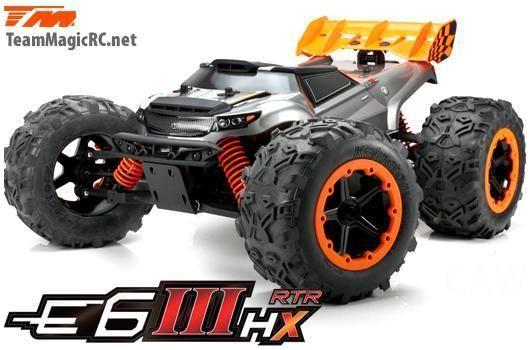 E6-III HX 4WD Monstertruck Waterproof