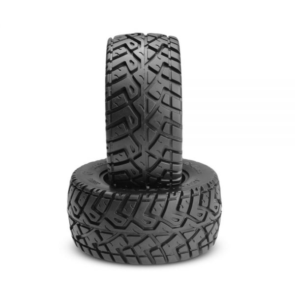 Slash 4x4 G-Locs Mounted Tires yellow - black Hazard (2)