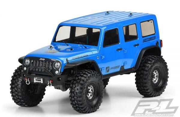 TRX-4 Jeep Wrangler Unlimited Rubicon klar
