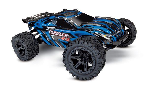 Rustler 4x4 Brushed blue 1:10 RTR