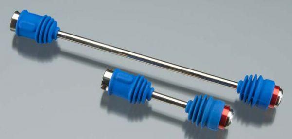 Driveshafts, center E-Revo (steel constant-velocity) front (1)/ rear (1)