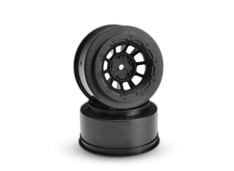 2,2''/3,0'' Felgen Slash 2WD vorne Hazard schwarz (2)