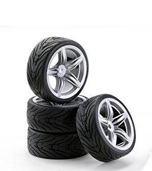 1:10 SC-Wheel F12 Style silver (4)