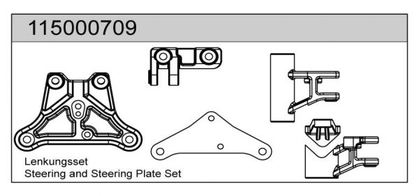 Lenkungsset X8 - T08609