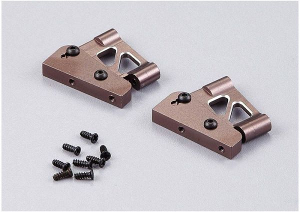"Aluminium Flügelhalter CNC ""grau"" Kurze Version ""1/7"""