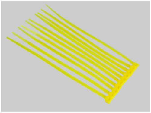 Kabelbinder 3x100mm gelb (50)